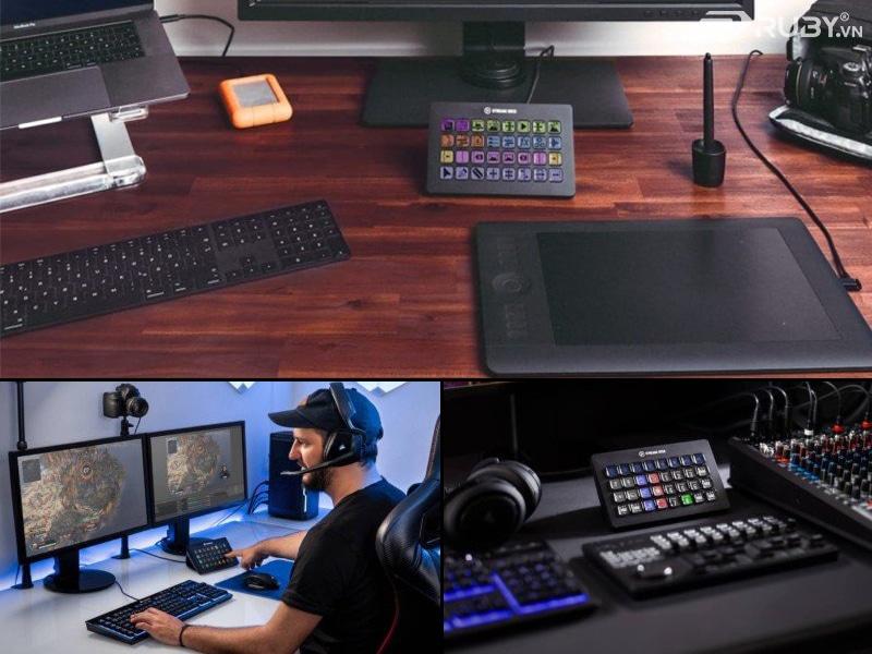 Bộ điều khiển tạo nội dung trực tiếp Elgato Stream Deck XL