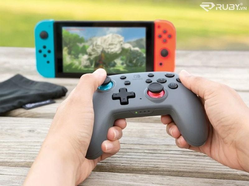 Bộ điều khiển không dây nâng cao PowerA Nano Gamepad có thể sạc lại