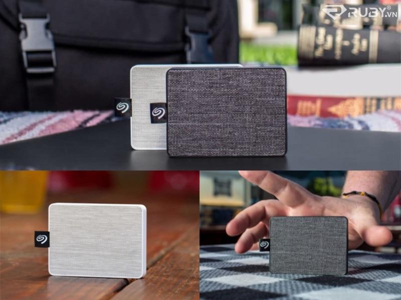 Seagate One Touch SSD ổ cứng lưu trữ ngoài có balô
