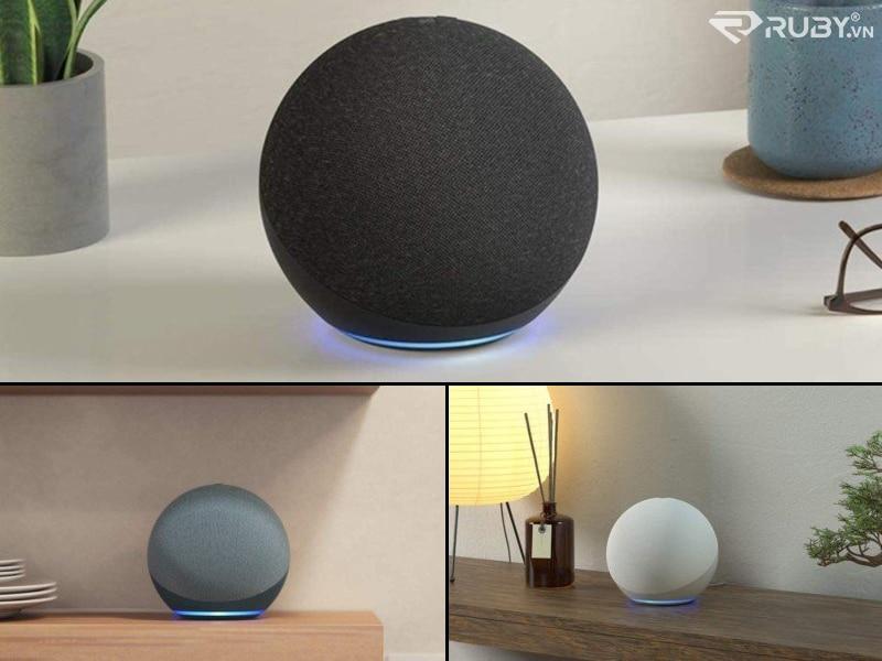 Thiết kế hình cầu mới của loa thông minh Amazon Echo thế hệ thứ 4