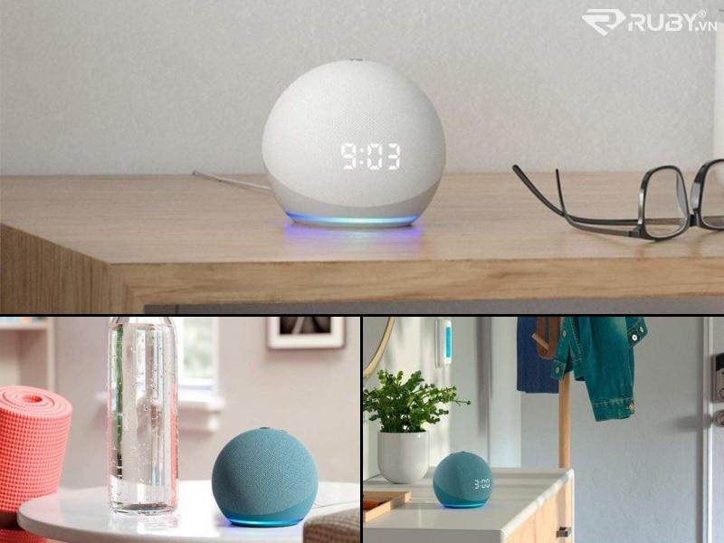 Thiết kế loa thông minh thế hệ thứ 4 của Echo Dot
