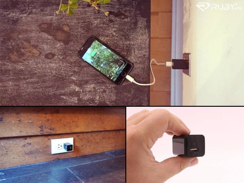 Camera giám sát mặt nạ HD USB Spy Cam