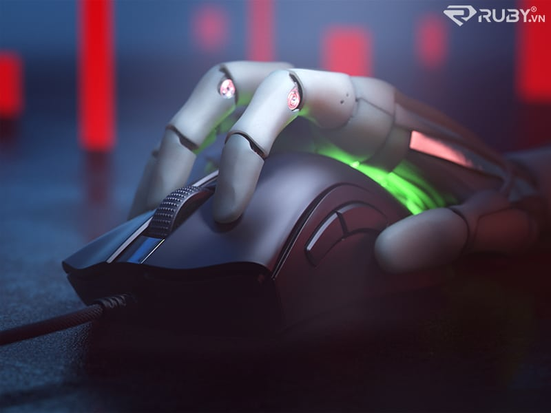 Chuột chơi game Razer DeathAdder V2 Mini Ergonomic