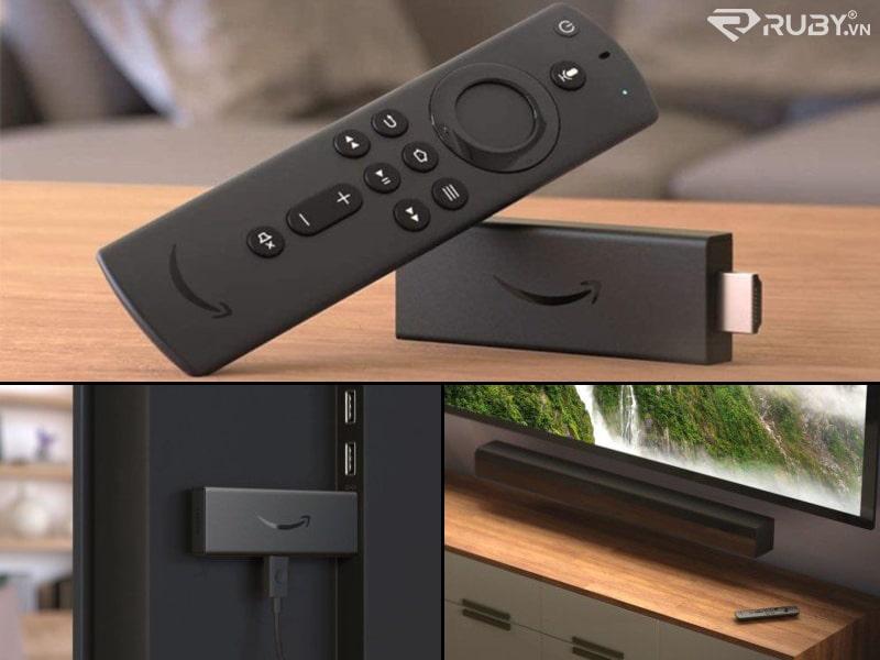 Fire TV Stick màu đen hoàn toàn mới