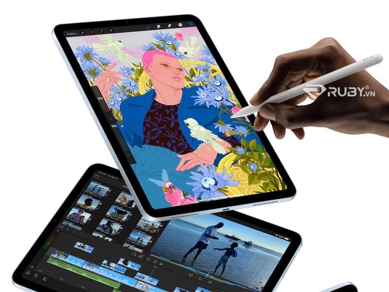 Apple New iPad Air vẽ bằng tay