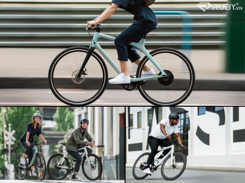 Gogoro Eeyo 1 eBike hạng nhẹ với Rider