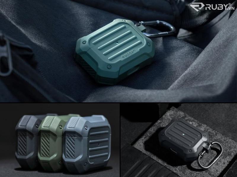 Spigen Tough Armor Vỏ Apple AirPods Pro chắc chắn