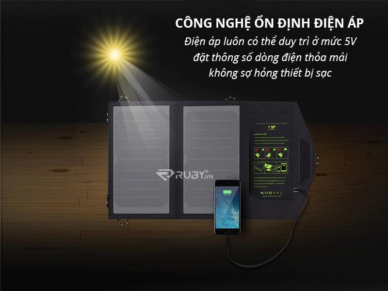 Bộ sạc pin năng lượng mặt trời