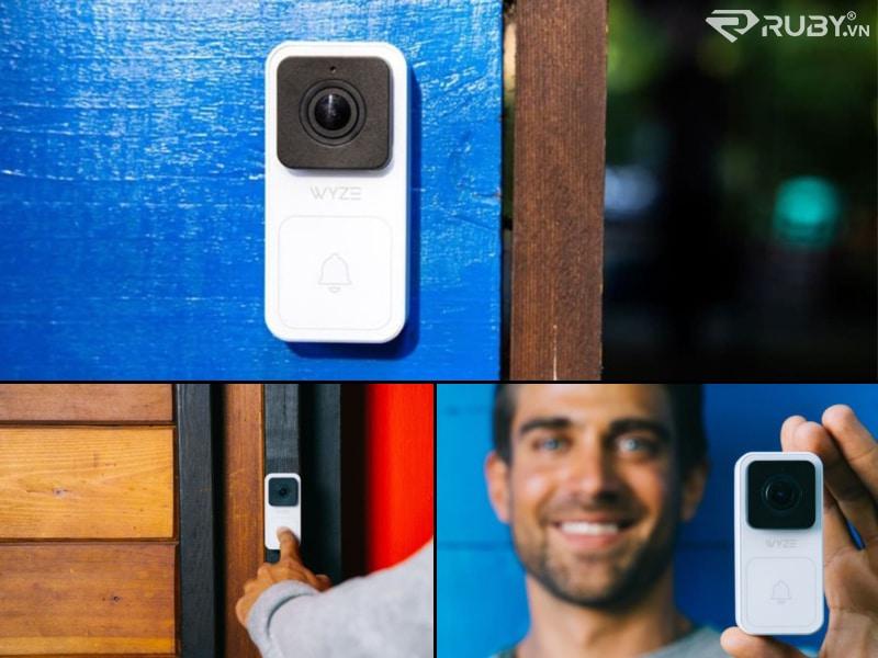 thiết bị thông minh tốt nhất Camera tại nhà hình chuông cửa hiển thị hình Wyze