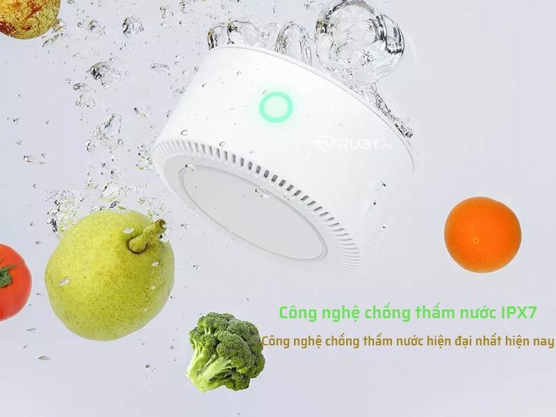 Công nghệ chống thấm nước IPX7