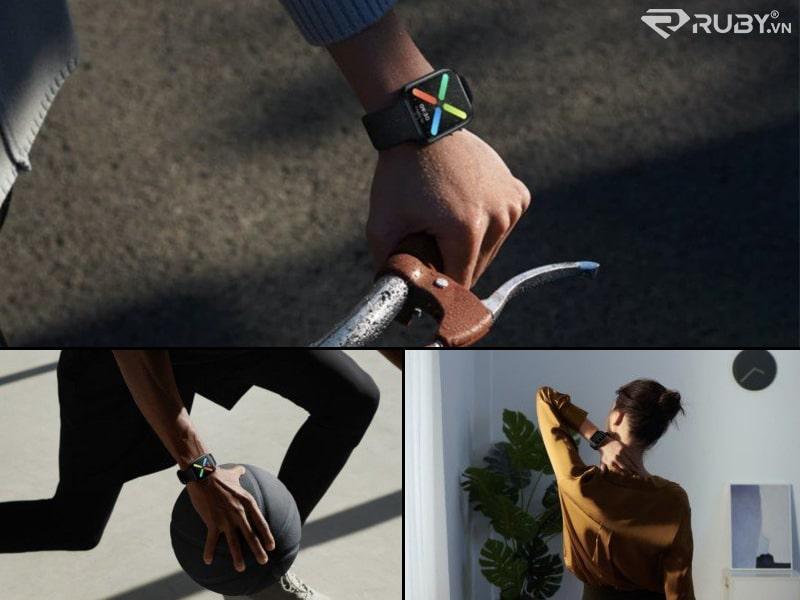 sản phẩm công nghệ tốt nhất Dòng máy theo dõi thể dục của OPPO Watch