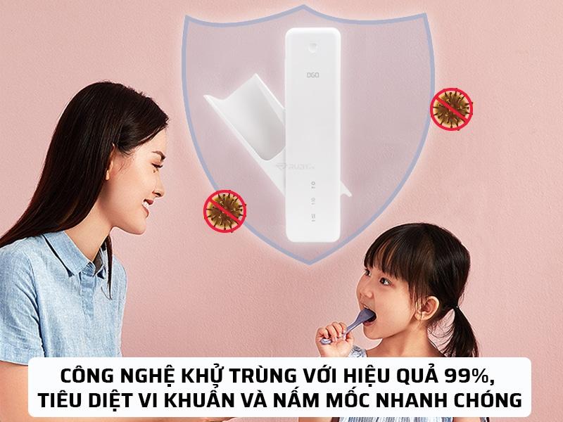 công nghệ khử trùng hiệu quả 99%