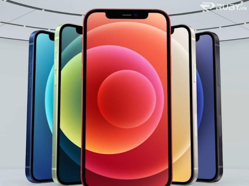 Mặt trước của Iphone 12 mới