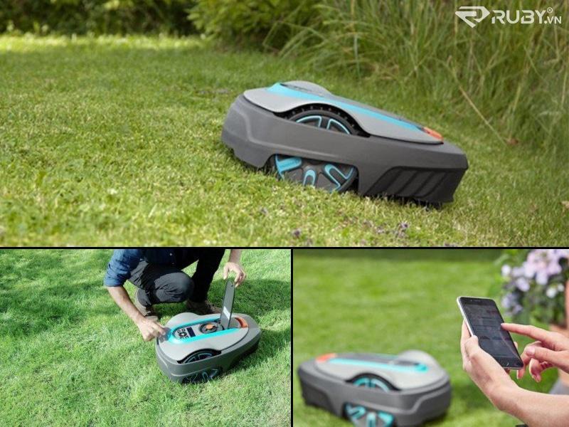 Máy cắt cỏ GARDENA Smart SILENO City Robotic