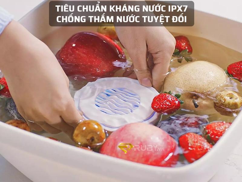 Tiêu chuẩn kháng nước IPX7