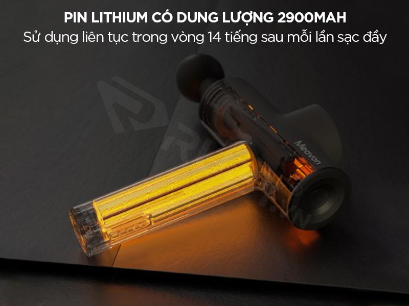 Pin lithium dung lượng lớn 2900mAh