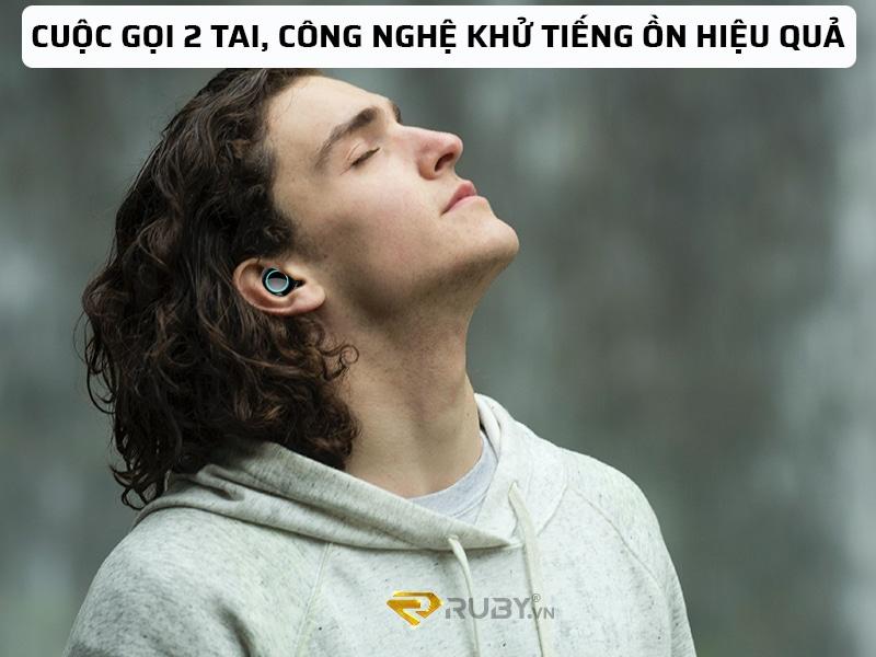 Công nghệ khử tiếng ồn thích ứng hiệu quả của tai nghe bluetooth