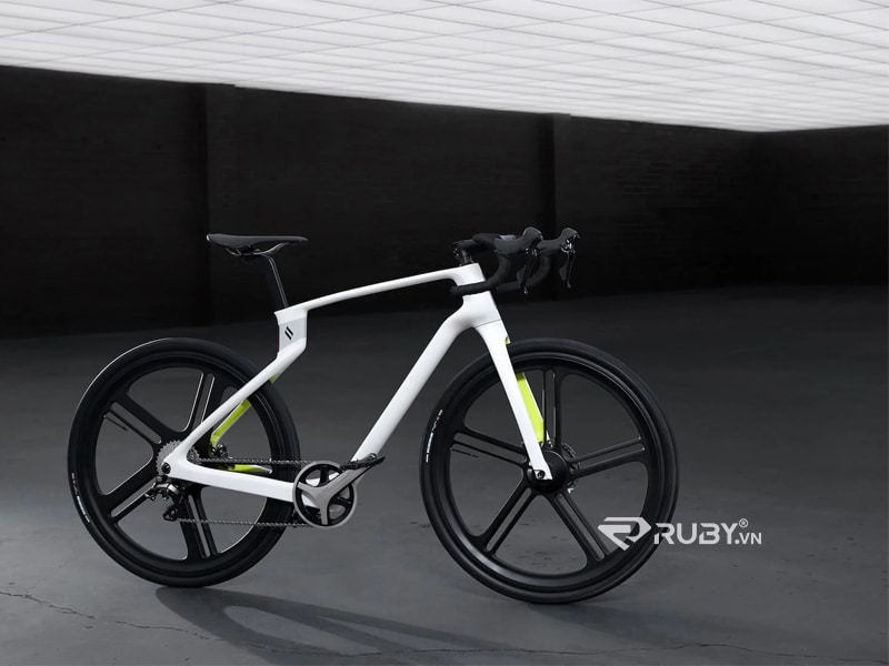 Xe đạp sợi carbon Unibody Superstrata