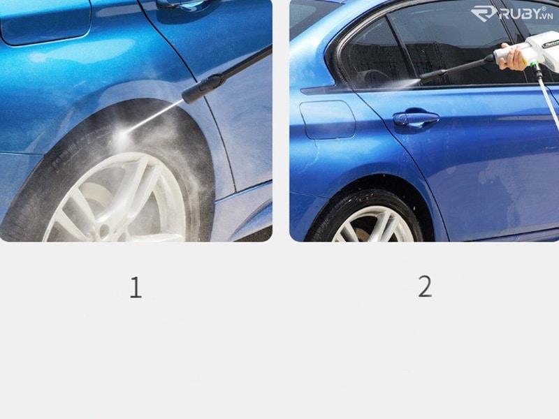 2 chế độ rửa xe