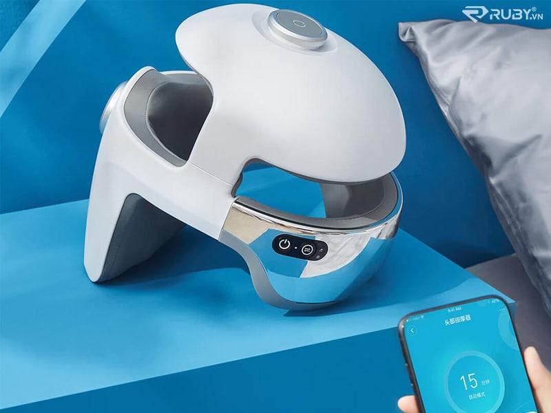 Máy massage đầu 3D Momoda