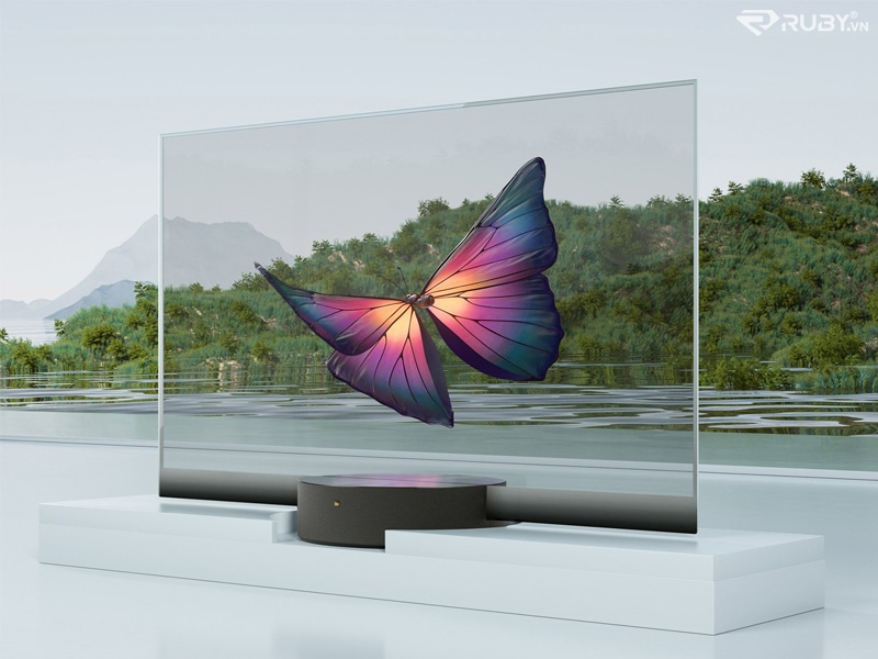 TV trong suốt OLED MI TV LUX