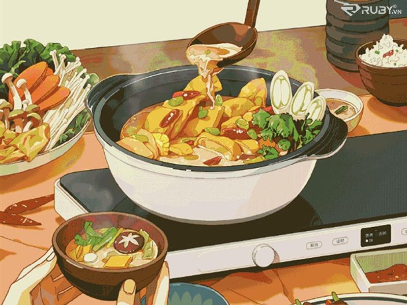 hầm thức ăn