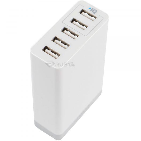 Bộ sạc 5 cổng USB Anker