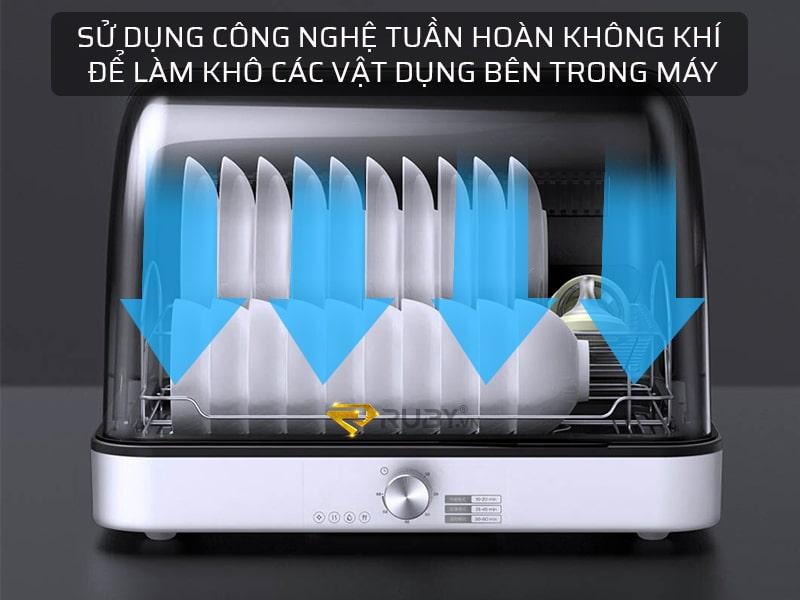 máy khử trùng chén đĩa Xixa