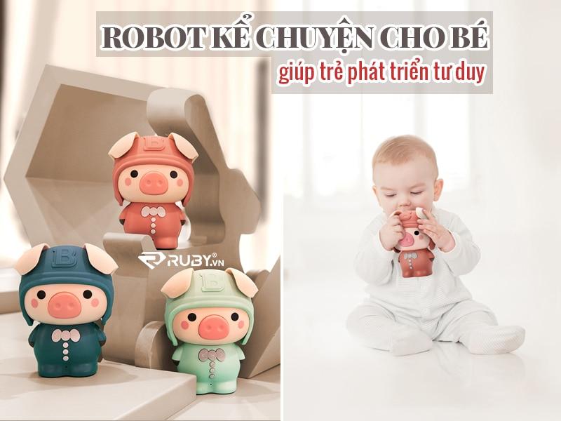 robot kể chuyện cho bé