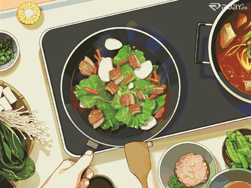 bếp từ đôi xiaomi