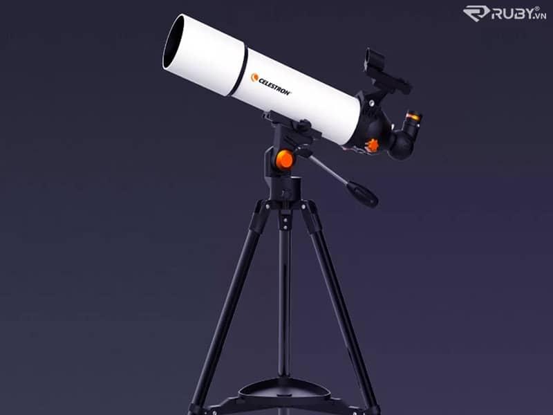 Có thể quan sát mặt trăng dễ dàng