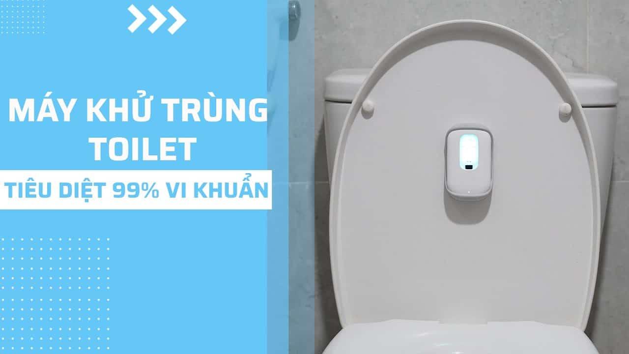 Đèn khử trùng toilet bằng tia UV sở hữu thiết...