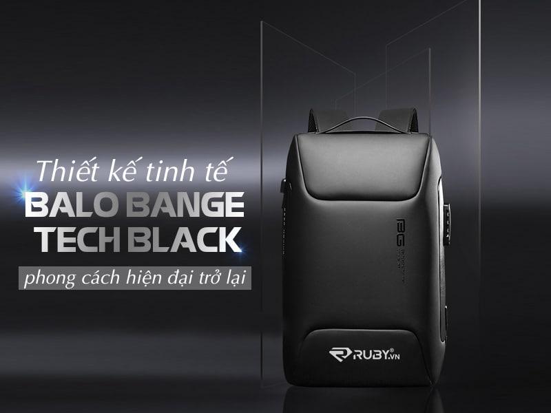 Balo Bange Tech Black