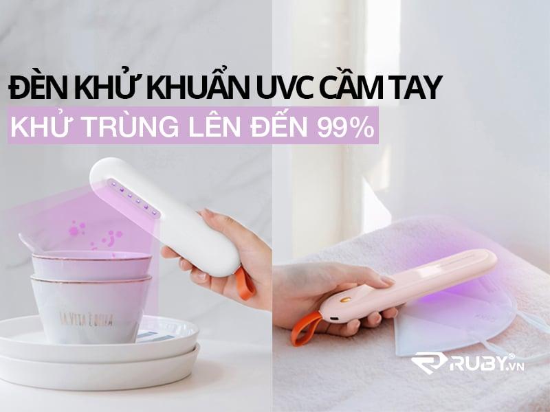 Đèn UVC khử trùng cầm tay Xixa