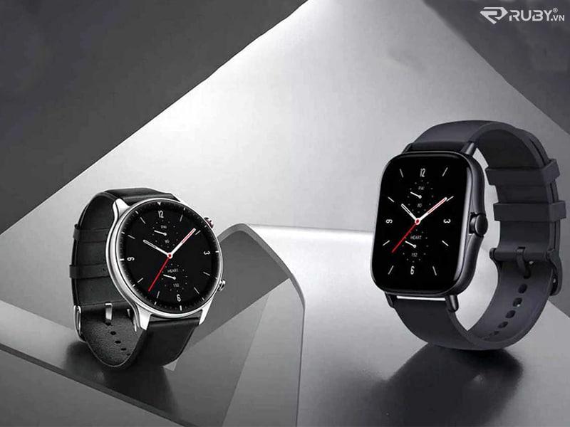 Đồng hồ thông minh Amazfit GTS 2e và GTR 2e
