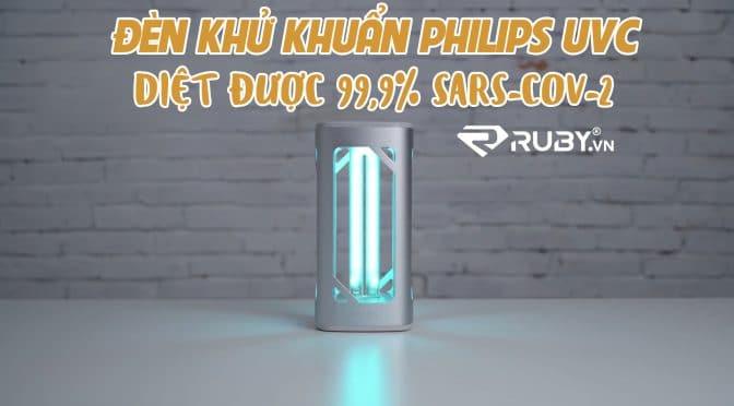 Đèn Philip có thể diệt 99% virus corona