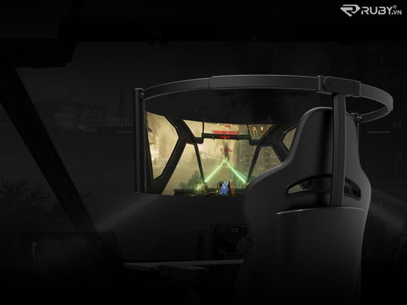 Ghế chơi game với màn hình OLED 60 inch Razer Brooklyn