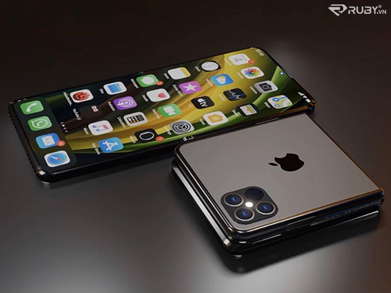 Iphone có thể gập lại sẽ ra mắt 2022