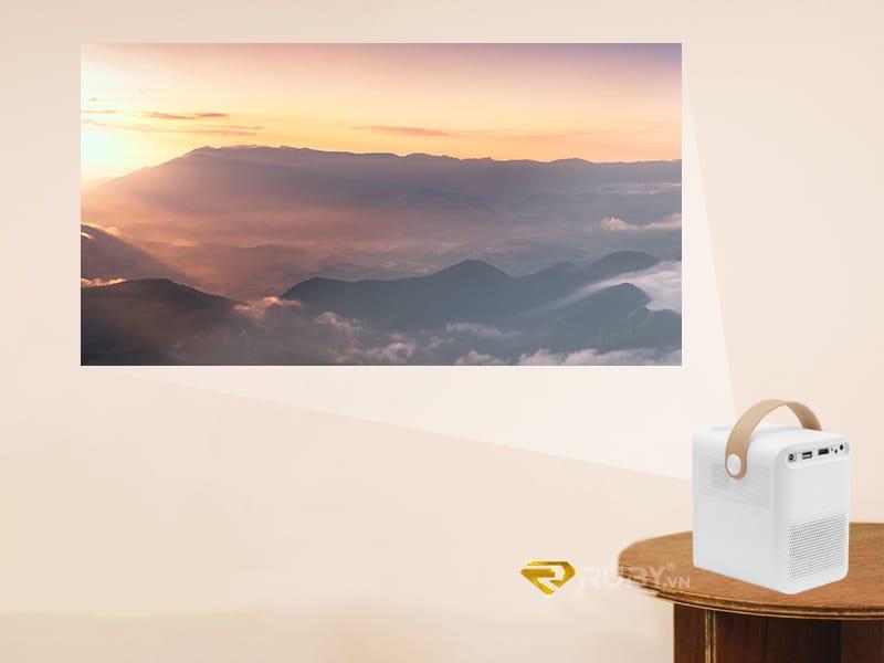 Thiết bị văn phòng mới: Máy chiếu mini 4K Xixa
