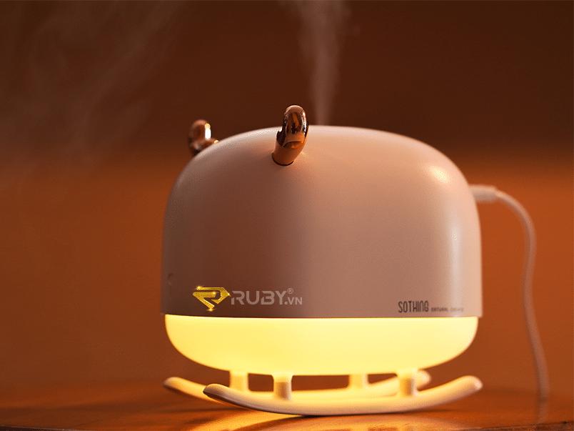 Máy tạo ẩm ban đêm có đèn Xiaomi