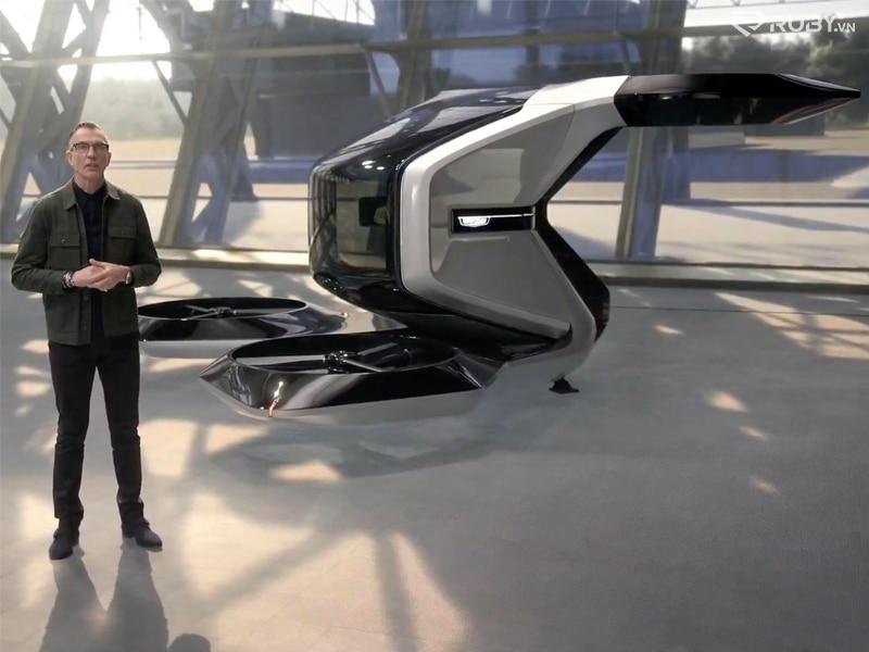 Concept Taxi bay Cadillac eVTOL