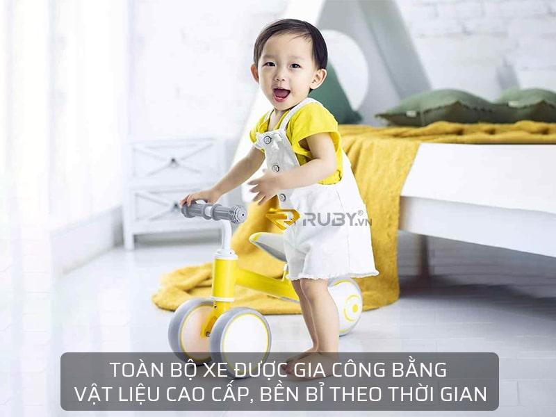 Xe đạp trẻ em Xiaomi 700Kids được thiết kế bằng vật liệu cao cấp