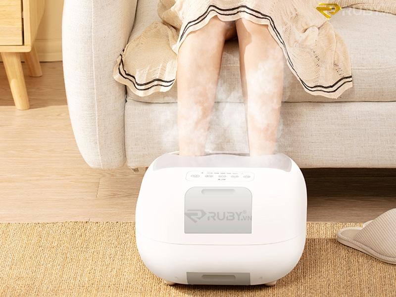 Món quà công nghệ dùng massage chân cho mẹ
