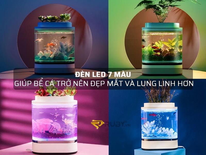 Đèn LED 7 màu