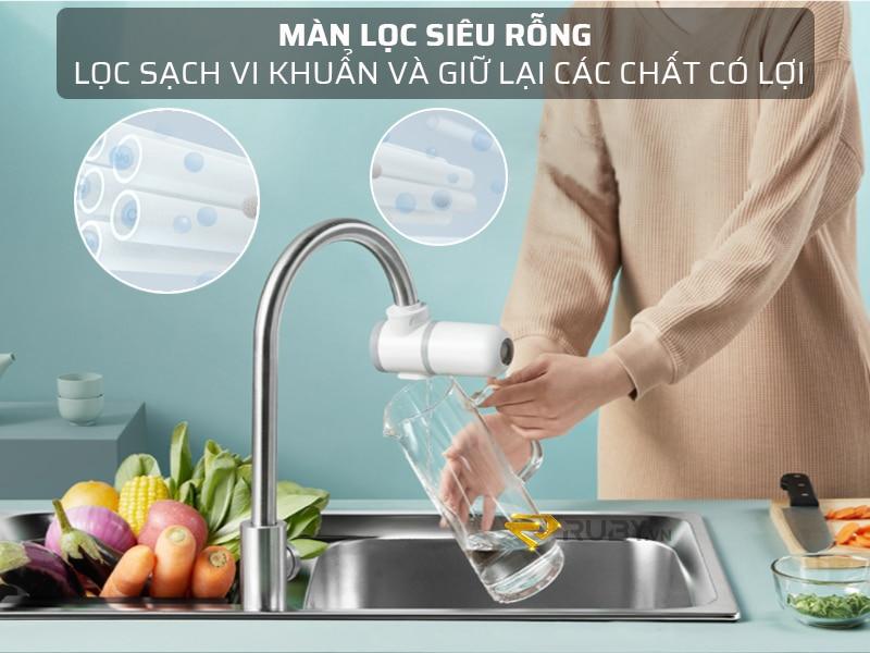 Mang lọc siêu rỗng của bộ lọc nước tại vòi Xiaomi Mijia