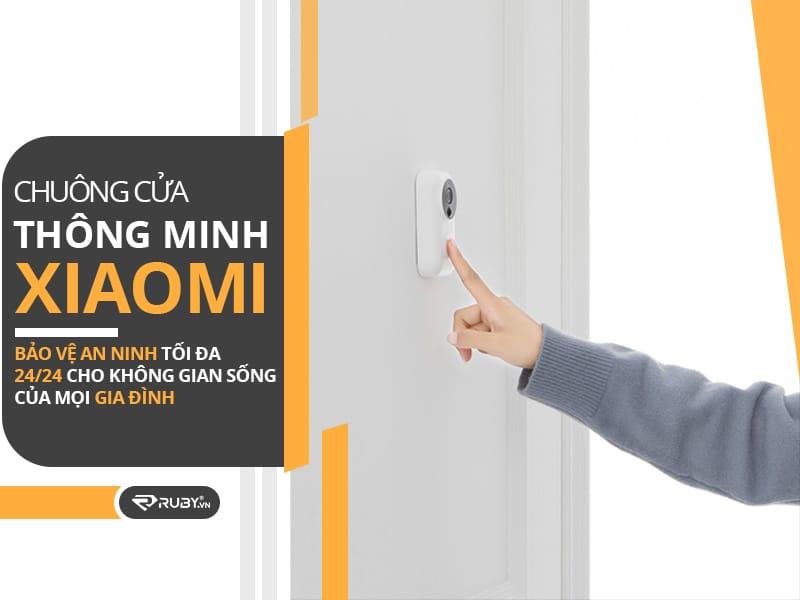Sử dụng chuông cửa thông minh