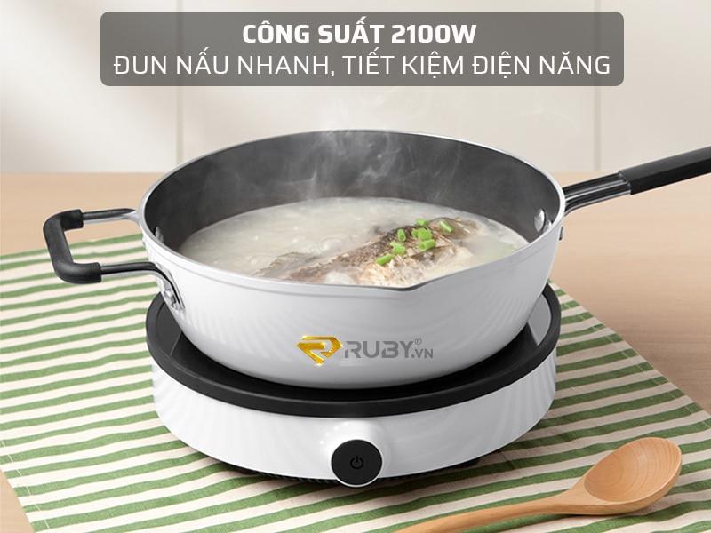 Đun nấu nhanh tiết kiệm điện năng