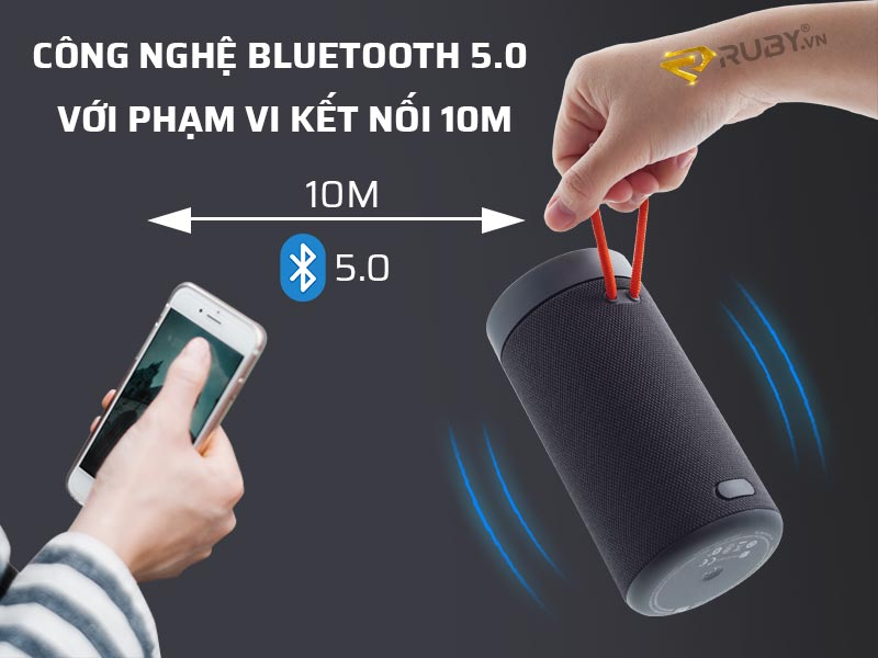 Bluetooth 5.0 với phạm vi kết nối 10m