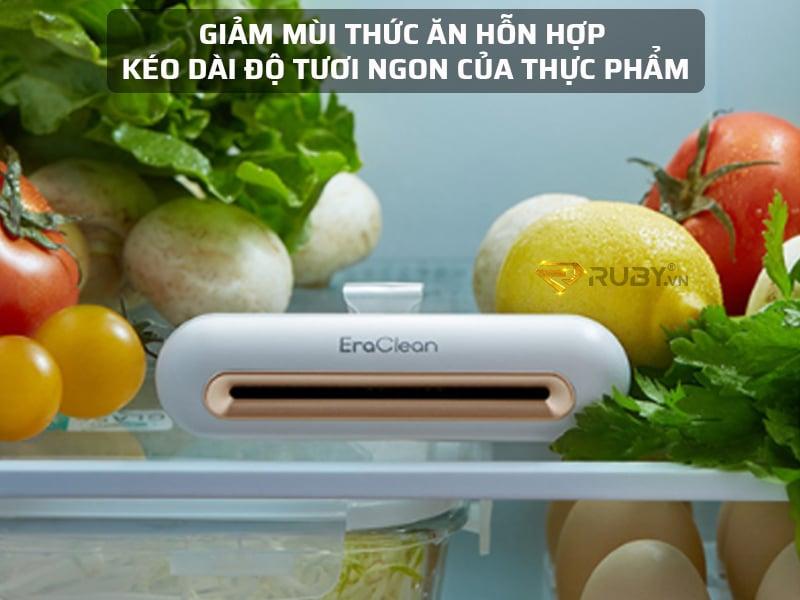 Máy khử mùi Xiaomi giúp kéo dài độ tươi ngon của thực phẩm