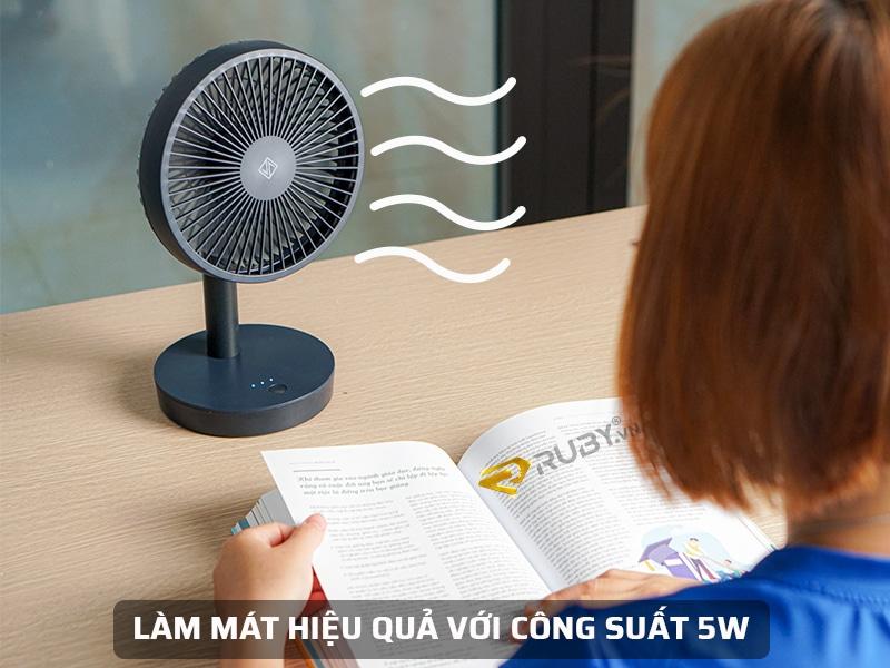 Công suất 5W, tiết kiệm điện năng
